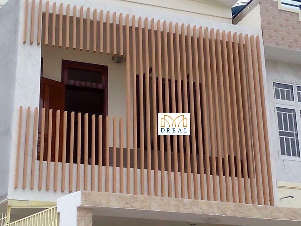 Xu hướng thiết kế nội thất hiện nay: Lam gỗ nhựa