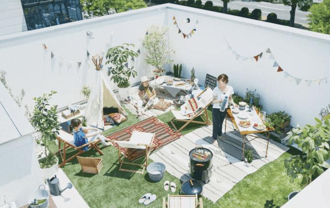 """Những mẫu thiết kế vườn trên sân thượng đang là """"CƠN SỐT"""""""