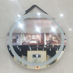 Gương LED Tròn Dây Da Cao Cấp VRPK 6041