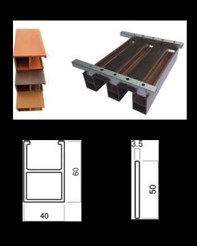 Trần hộp PVC QW 40CH60